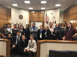 Las Plumas High School wins Mock Trial