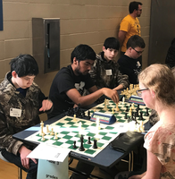 Hearthstone Places 2nd at Chess Tournament