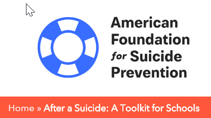 Suicide Resources