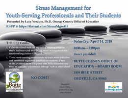 Lucy Vezzuto, PhD: Stress Management for Youth-Serving Professionals and Their Students