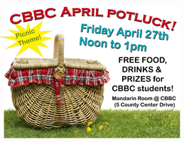 CBBC April Potluck