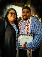 Come Back Butte Charter Student Phelan Fred Honored at Chico State Native American Graduation Celebration