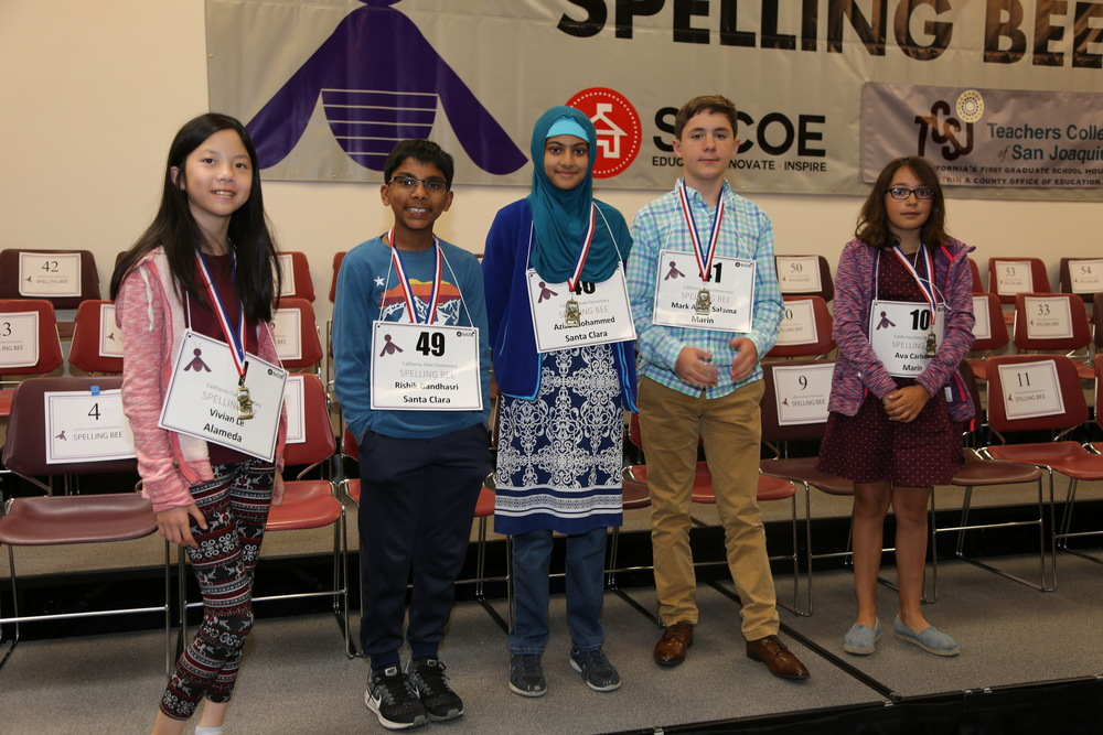 2017-2018 California State Junior High Spelling Bee Championship
