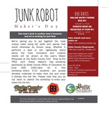 Junk Robot Maker's Day