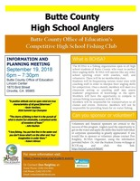 Join the Butte County High School Angler's Club