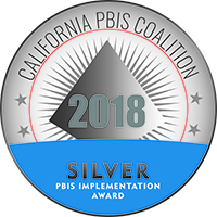 "BCOE Schools Recognized as ""Silver"" Schools by The California PBIS Coalition"