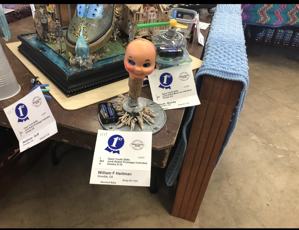 Maker's Day entries awarded at Butte County Fair