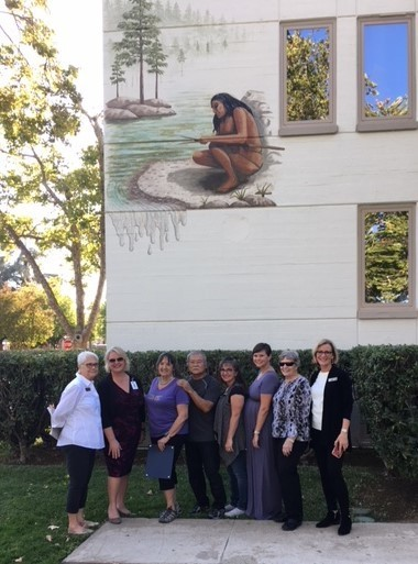 Ishi Mural Dedicated in Oroville