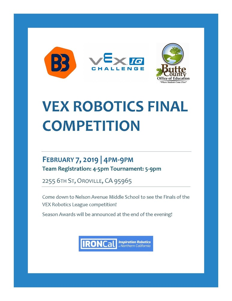 VEX Robotics Final Competition