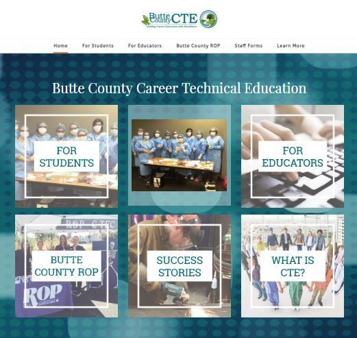 Butte County CTE has a new website!