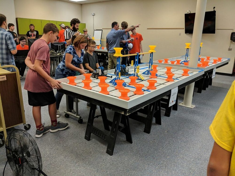 Vex Robotics League - Qualifying Round 1