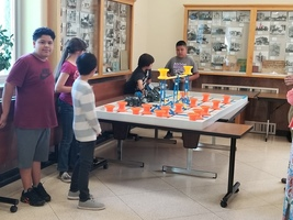 Sycamore Middle School students give VEX robotics presentation to Butte County Office of Education