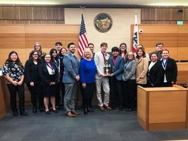 LAS PLUMAS HIGH SCHOOL WINS 2019 BUTTE COUNTY MOCK TRIAL