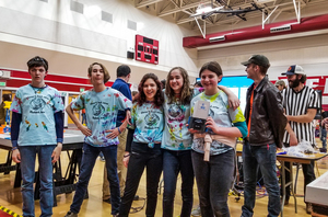 Hearthstone's VEX IQ Middle School Robotics Team Headed to State Championship Competition