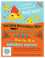 Come Back Nacho Bar Holiday Fiesta