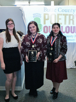 GRIDLEY HIGH SCHOOL'S SELAH HARTMAN NAMED BUTTE COUNTY POETRY OUT LOUD CHAMPION
