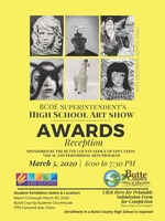 BCOE Superintendent's High School Art Show