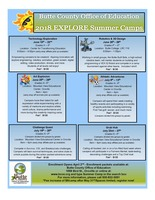 2018 Summer Theme Camps - Registration Opens April 2, 2018