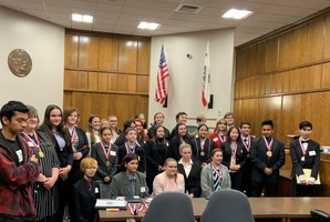 Students Perform in Butte County Mock Trial Competition