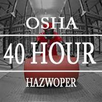 FREE Hazwoper 40 Training