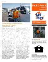 Back 2 Work  September Newsletter