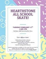 Feb 12th All School Skate