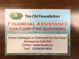 Camp Fire On-the-Spot Financial Assistance