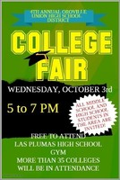 All Middle and High School Students Invited to Attend College Fair