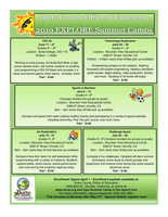 EXPANDED LEARNING THEME-BASED SUMMER CAMPS