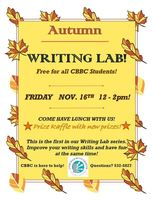 Autumn Writing Lab! Friday Nov. 16th!