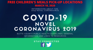 Free Children's Meals During School Closure March 19-27, 2020