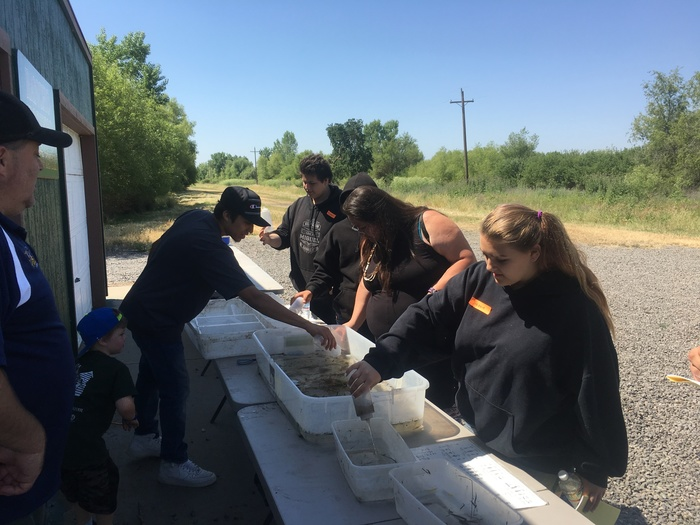 LEAD students at Rancho Esquon Wildlife Area