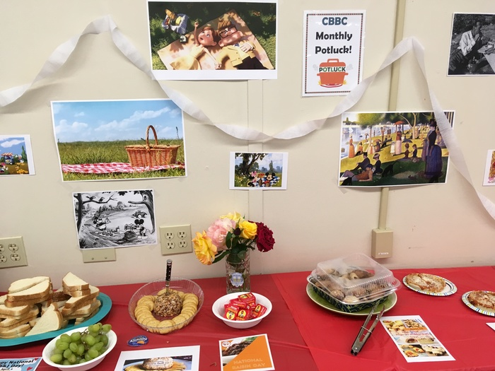 April Picnic Themed Potluck was a blast!