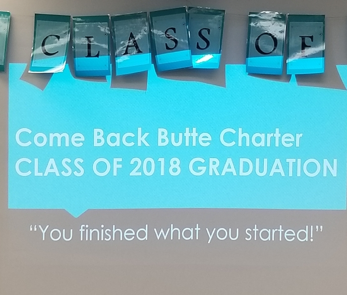 Come Back Butte Charter Graduation 2018