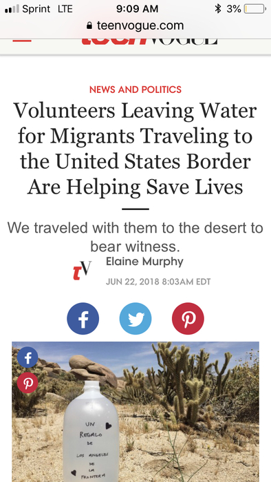 Article about Border Angels