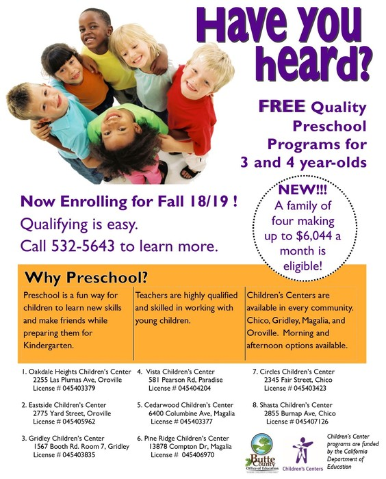 CDPS Enrollment Flyer