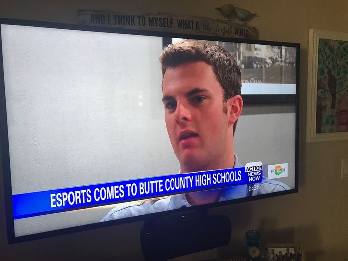Chico High grad Jack Sheridan talking Esports