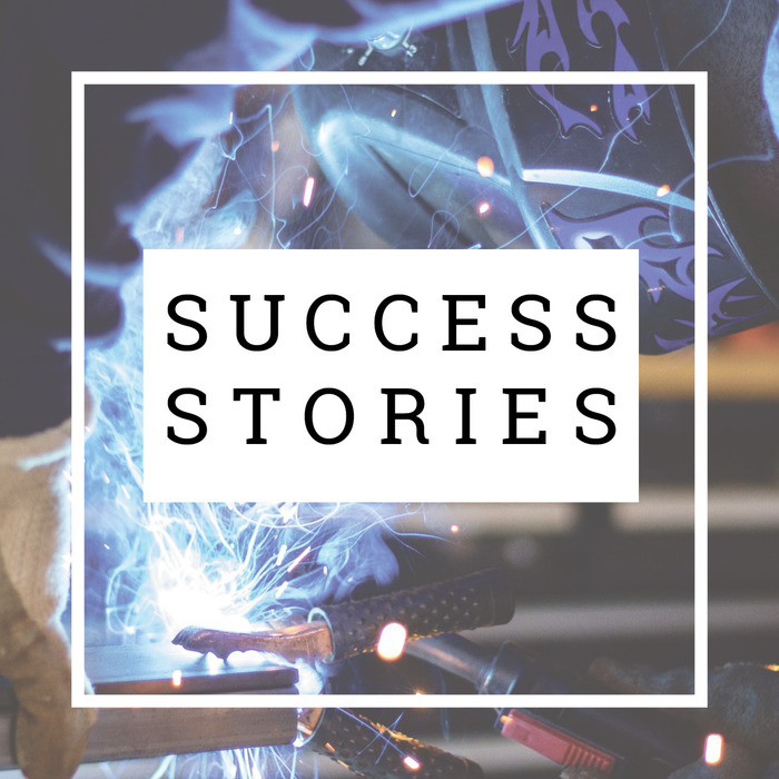 Image with text: Success Stories
