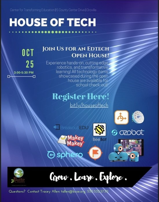 house of tech flyer