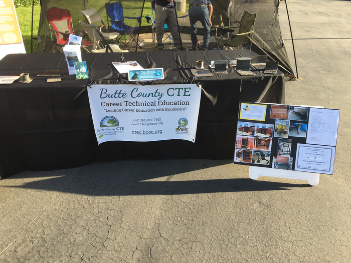 One of many CTE booths