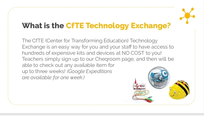 CfTE Technology Exchange