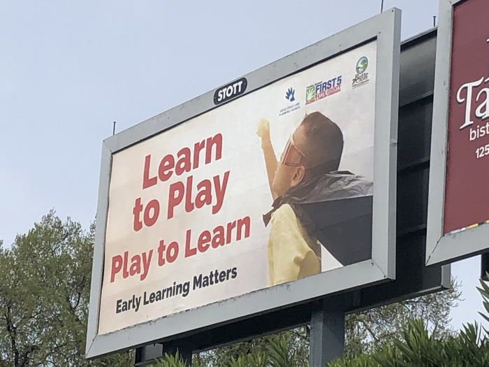 Early Learning Matters Billboard