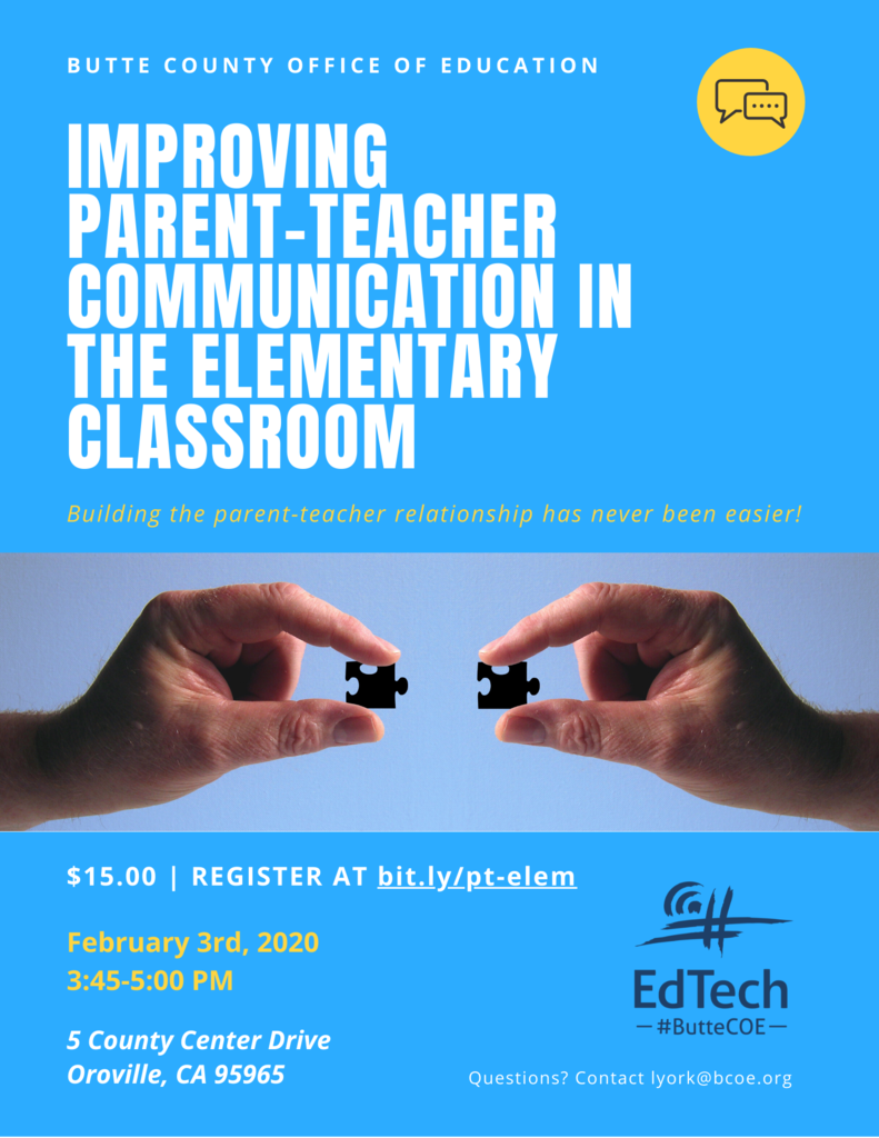 Parent-Teacher Communication Flyer