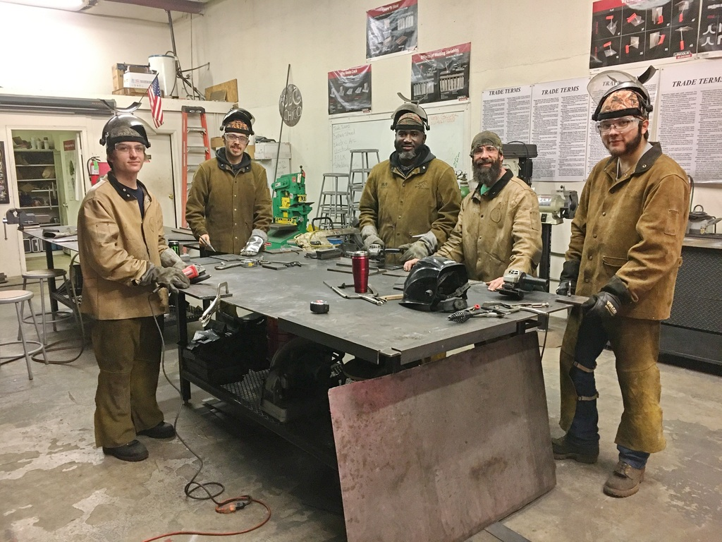 New students in our Welding Program