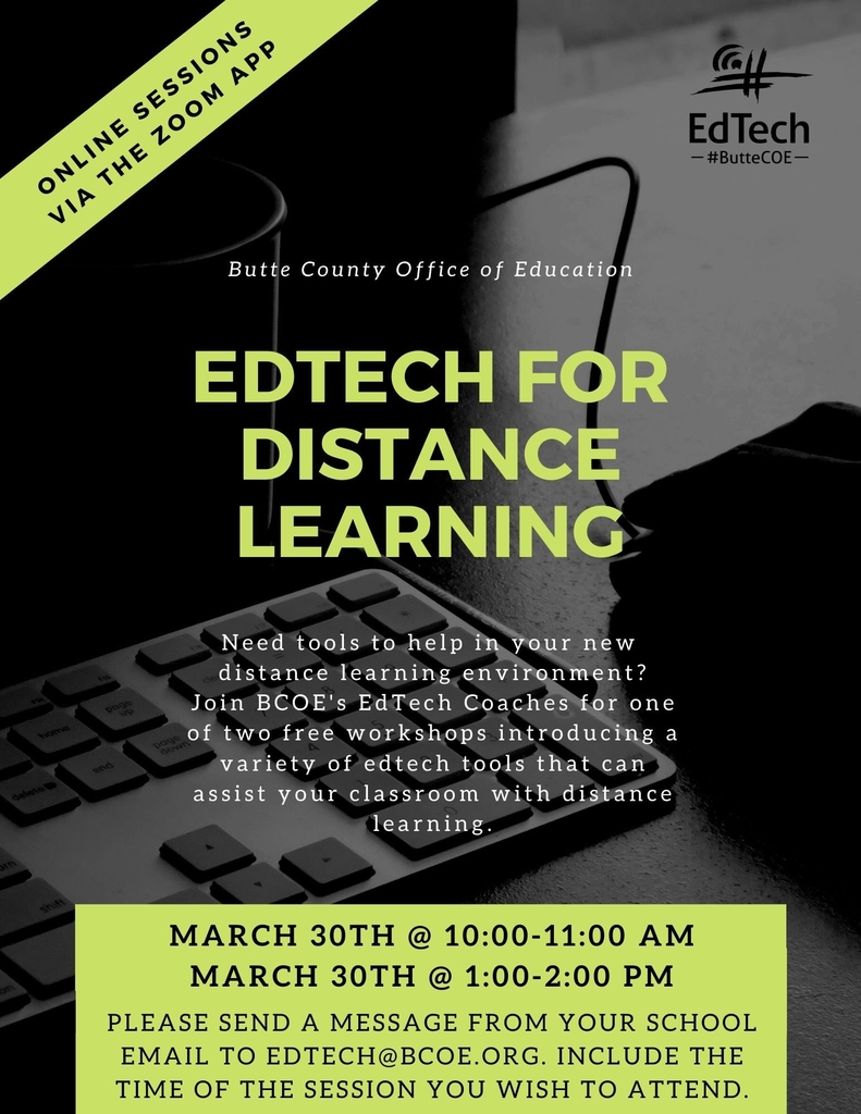 EdTech for Distance Learning