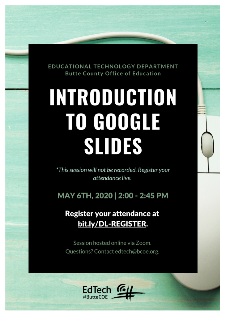 Google Slides Flyer