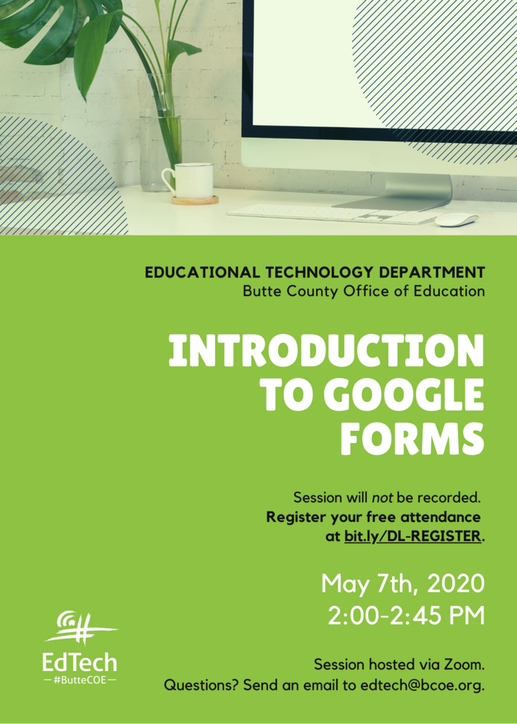 Google Forms Flyer
