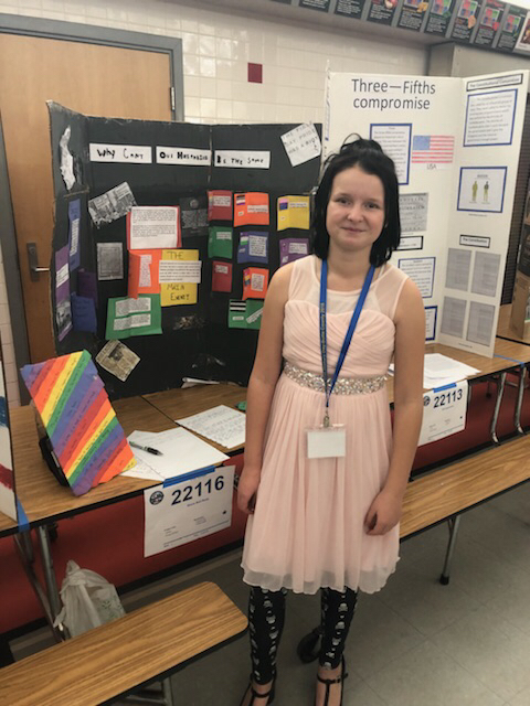National History Day student stands by her presentation