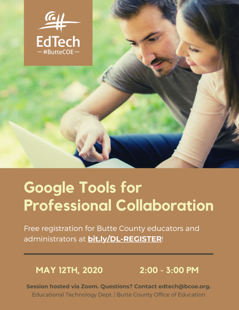 Google Tools for Professional Collaboration
