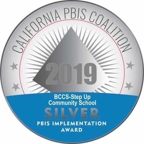Our school is a recipient within the California PBIS Coalition's System of Recognition, reflecting excellence in the measurement of fidelity as well as your efforts in implementing the core features of Positive Behavioral Interventions and Supports.